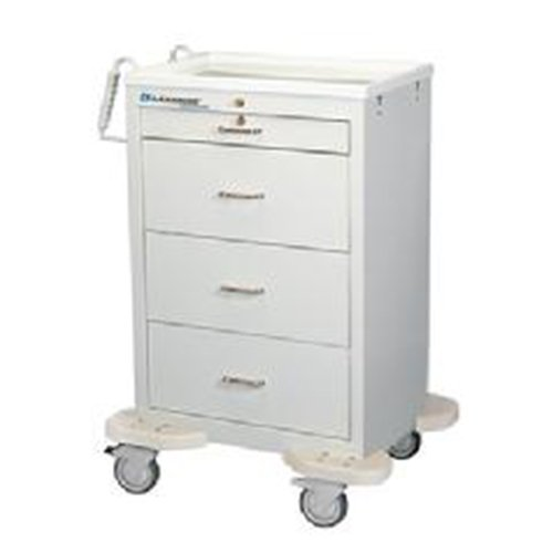 4 Drawer Medication Cart C-430-K-1TW