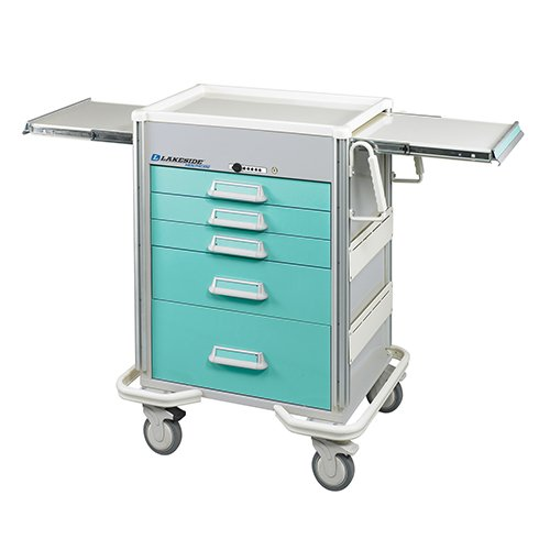 5 Drawer Emergency Cart P-524-P-2SG