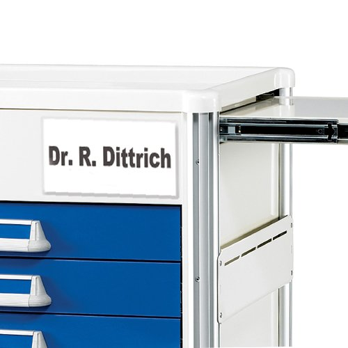 6 Drawer Emergency Cart Label