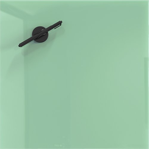 Light Green Magnetic Dry Erase Glass