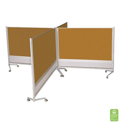 Mobile Cork Board Partitions
