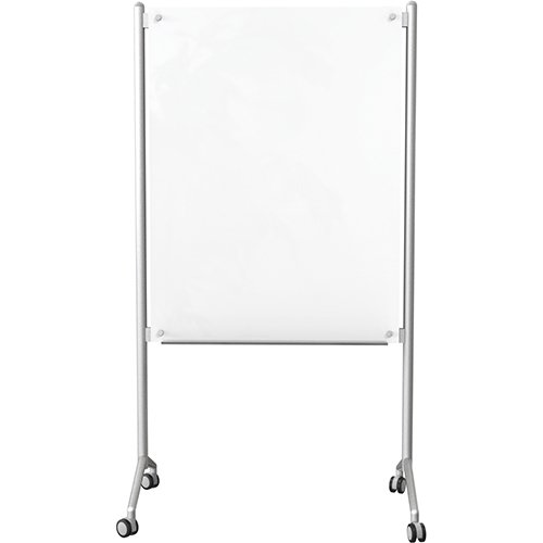 Mobile Glass Dry 74954 Erase Whiteboard front view