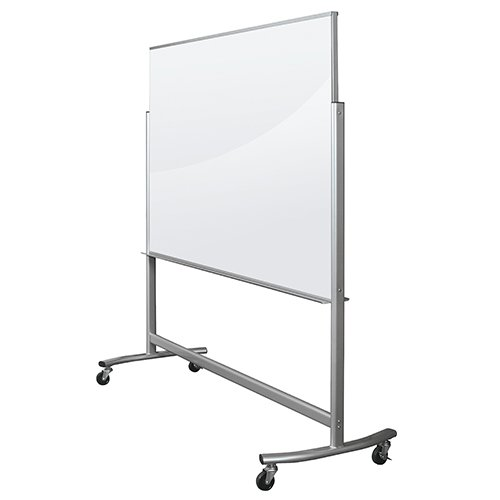 Mobile Glass Dry Erase Board Balt