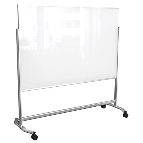 Mobile Magnetic Glassboard Balt Visionary