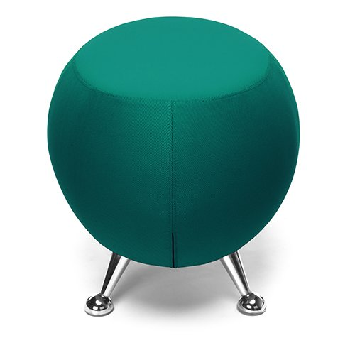 OFM Jupiter Series Stool 2331 Green Divot