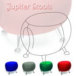 Jupiter Series Stool Line Art