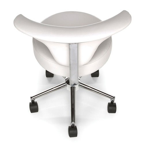 Mobile Medical Stools White 910