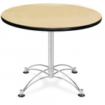 OFM LT36RD Multi-Purpose Round Table Maple