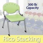 OFM Rico Stack Chairs 300 lb Capacity