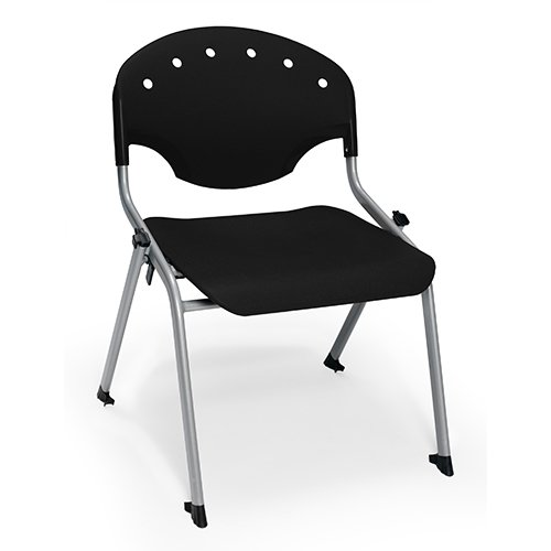 OFM Rico Stack Chair 305 Black