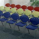 OFM Rico Stack Chairs 305 Chair Rows