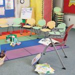 OFM Rico Stack Chairs 305 Classroom