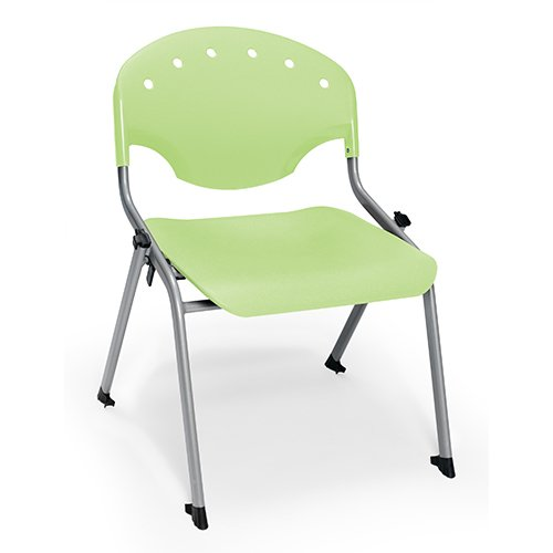 OFM Rico Stack Chairs 305 Lime