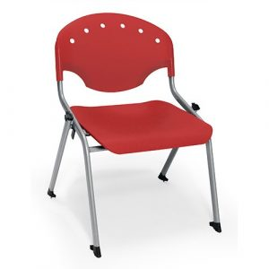 OFM Rico Stack Chairs 305 Red
