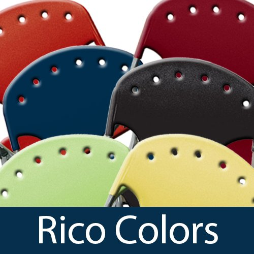 OFM Rico Stack Chairs Colors