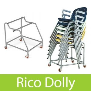 OFM Rico Stacking Chair Dolly 305 & 306