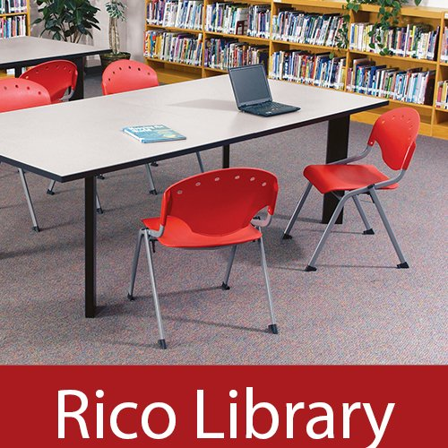 OFM Rico Stack Chairs Library