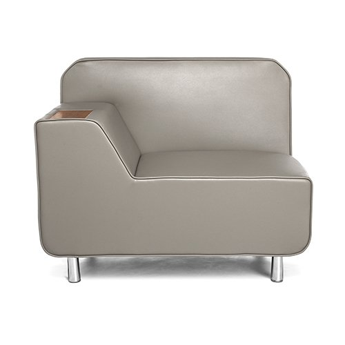 Serenity Series Lounge Seating Left Taupe 5000L