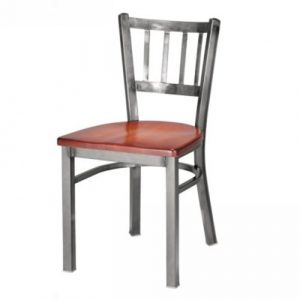 Melissa Anne Chair Vertical Slat Wood Seat