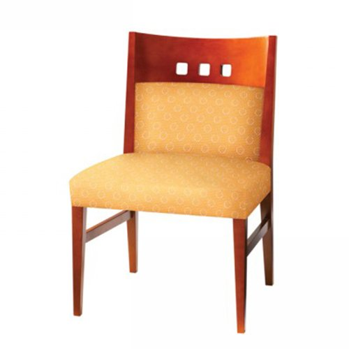 Masque Side Chair Upholstered Back