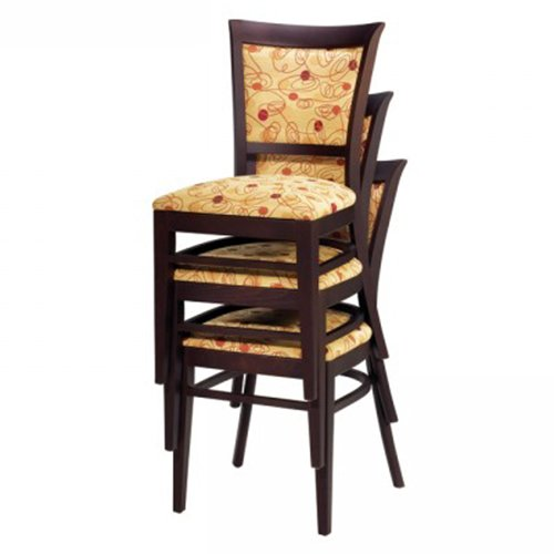 Wood Melissa Stacking Chair