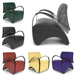 Recoil Lounge Chairs 841 Colors