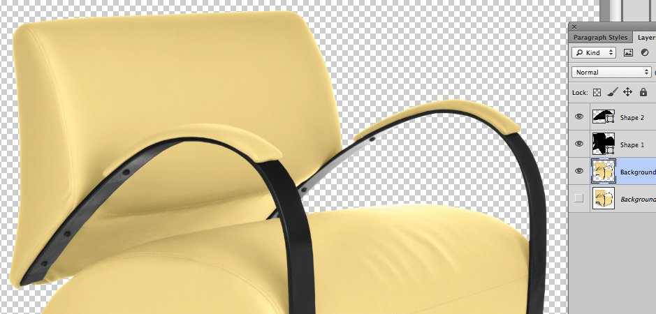 Recoil Lounge Chair from OFM Design with sweeping curves