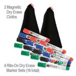 Rite on 4 Sets Markers 2 Cloths