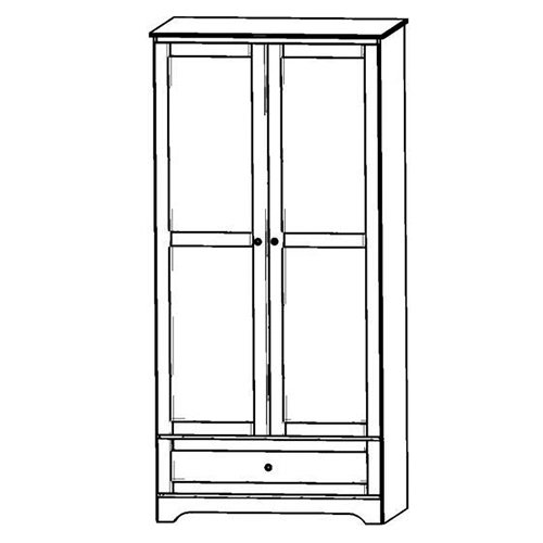 SED-Ward-2Door-1Drawer