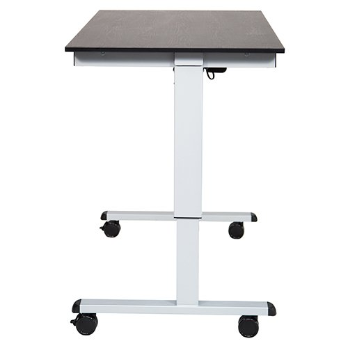 STANDE 48 Electric Height Desk Side View