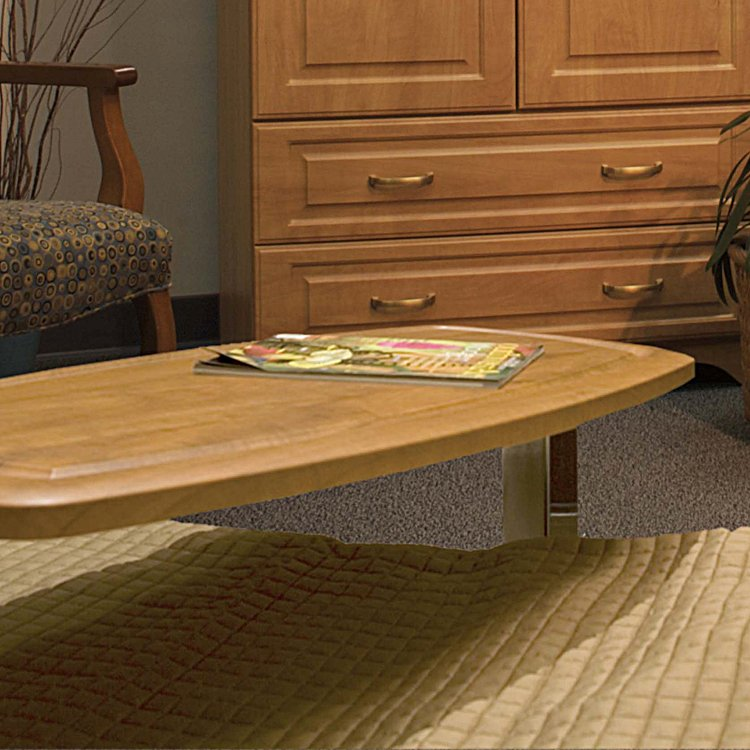 Sedona Overbed Table No Drip Top