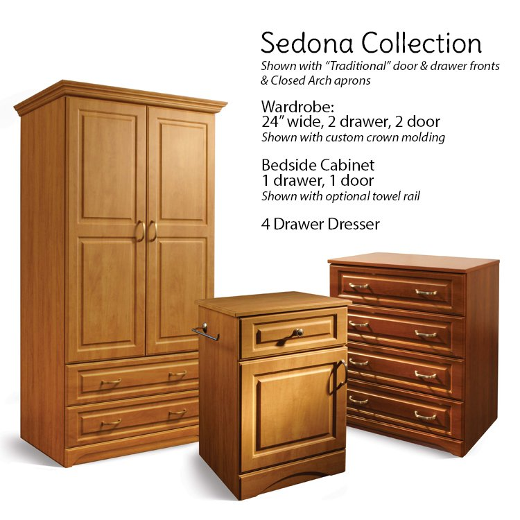 Sedona Collection Patient Room Furniture