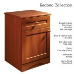 Sedona Patient Room Bedside Table Features Lancaster