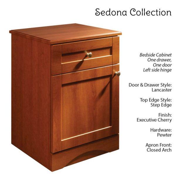 Sedona Patient Room Bedside Table Features Lancaster