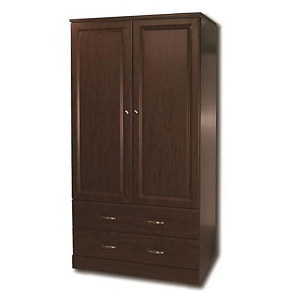 Sedona Wardrobe 2 Drawer 2 Door Traditional