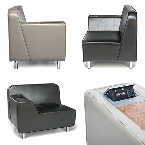 OFM Serenity Series Lounge Seating & Charging
