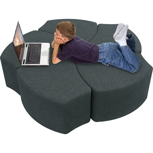 Shapes Economy Shapes Upholstered Stool 920-5-001 Shapes Lounge Seat 920-5-001
