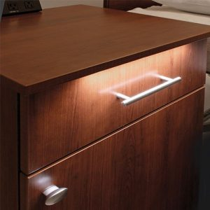 Siena Healthcare Bedside Cabinets Light Close Up