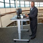 Sit to Stand Electric Adjustable Desk STANDE