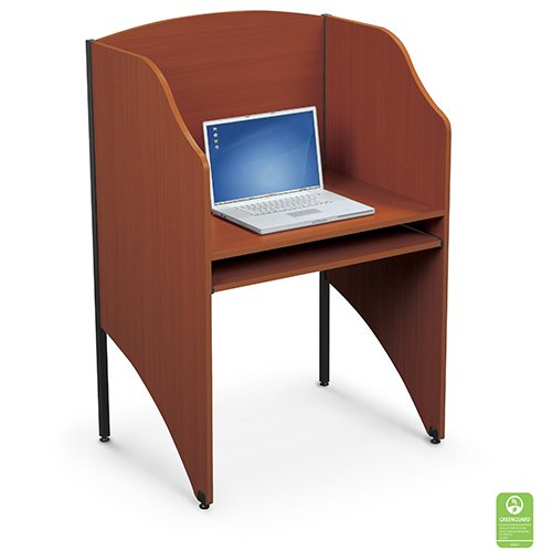 Study Carrel Teak Finish