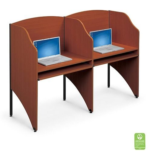 Study Carrels 2 Teak Finish
