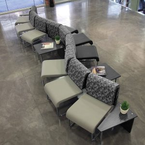 Uno Series Modular Seating Curve