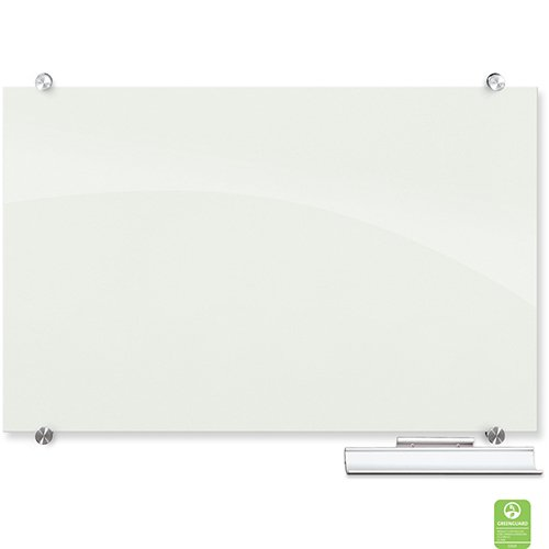 Visionary Glass Magnetic Markerboard & Tray Plain