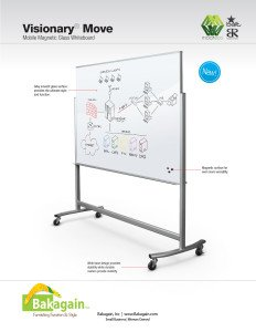 Visionary Move Magnetic Glassboard Brochure Page 1