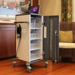 Tablet Charging Cart Up to 40 Devices Office