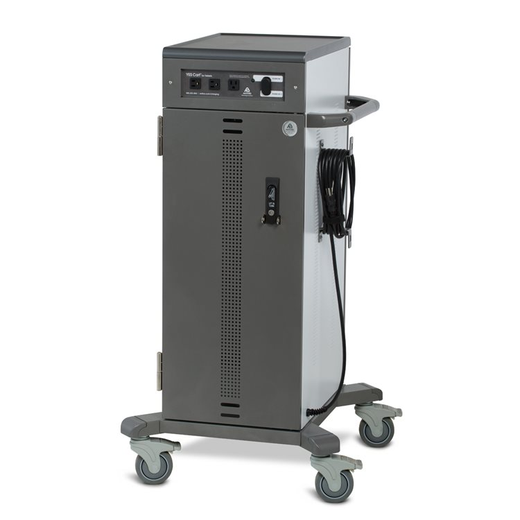 Tablet Charging Cart Up to 40 Devices IT Side Closed