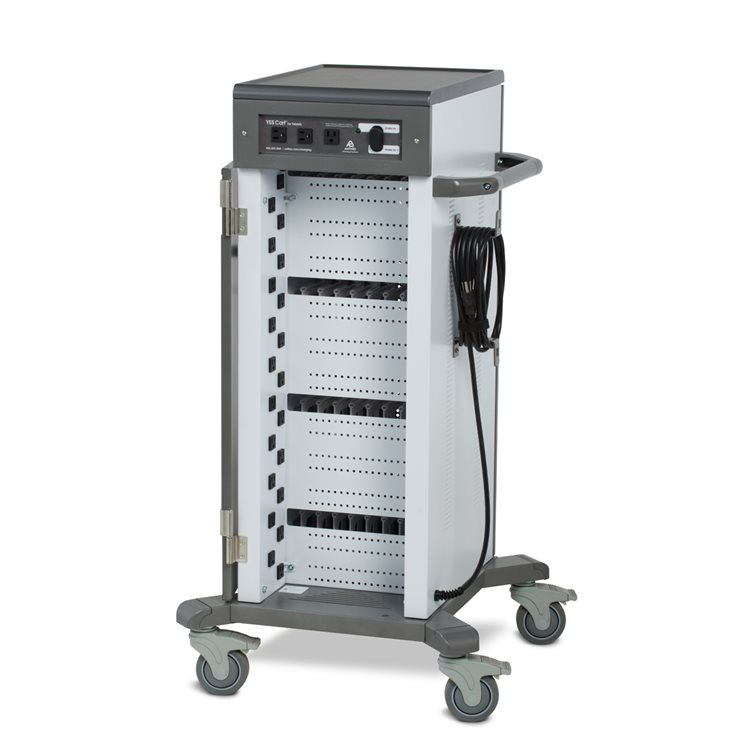 Tablet Charging Cart Up to 40 Devices IT Side Open