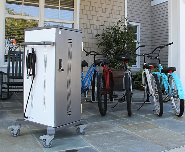 Tablet Charging Cart Up to 40 Devices Mobile