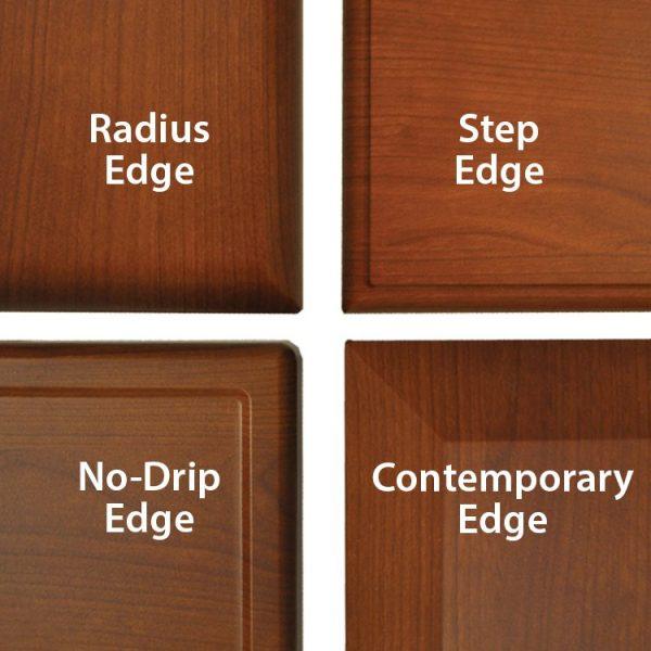 Sedona Patient Room Collection Edge Profiles